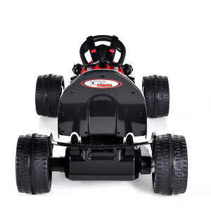 Electric Ride-on Children′s Toy Car- Remote Control Black Kart