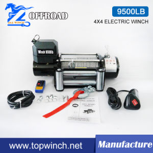 Waterproof SUV 12VDC Electric Winch with Wireless Remote Control (9500lbc-1)