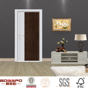 Modern Flush Interior Melamine Wood Door (GSP13 017)