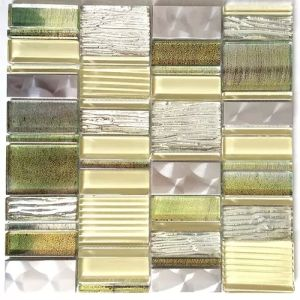 Mix Color Swimming Pool Tiles Glass Mosaic for Sale