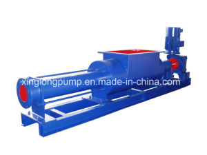 Xinglong Wide Throat Single Screw Pump with a Feeding Hopper pictures & photos