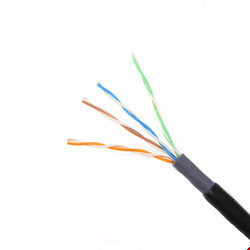 Ce Certificate Cat 5e UTP Outdoor Network Cable pictures & photos