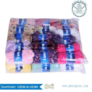 0.7nm Polyester Chenille Yarn Polyester Chenille Scarf Knitting Yarn