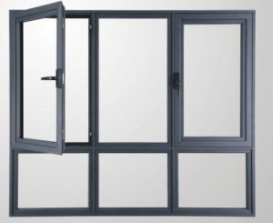 Aluminium Window with Good Quality and Elegant Appearance pictures & photos
