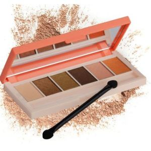 6 Commonly Used Colors Makeup Eyeshadow Palette pictures & photos