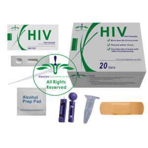 China Hiv Test Kit At Home Within 15 Minutes Hivblood 20