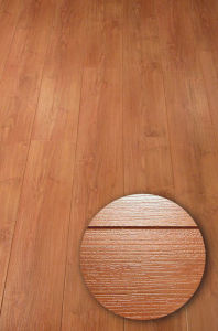HDF Middle Embossed Surface Laminate Flooring(CE) pictures & photos