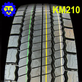 235/75r17.5 265/70r19.5 Km210 Truck Tyre pictures & photos