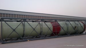 FRP Lining Tanks with Steel Structure for Transportation pictures & photos
