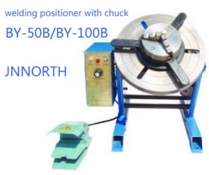 100kg Pipe Welding Positioner with Welding Chuck pictures & photos