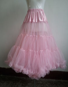China Manufacturer of High Quality Rockabilly Petticoat (CS-PT02)
