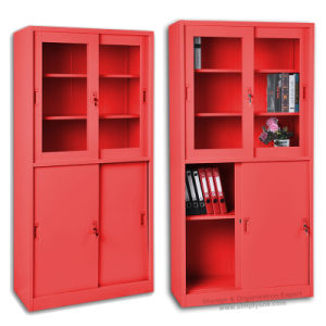 Locking Storage Cabinet With Swing Door