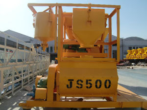 Twin-Shaft Js500 Concrete Mixer pictures & photos
