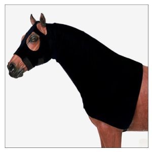 Neoprene Horse Rug Full Neck Jowl Sweat Wrap Cover Grooming Sleeve