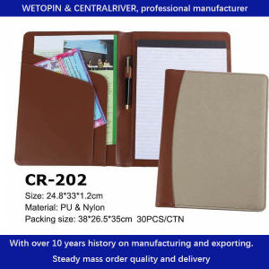 QTY 20 TOP QUALITY A4 MENU FOLDERS IN BROWN LEATHER LOOK