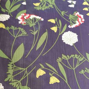 Newest Home Textile Chiffon Printed Fabric