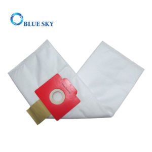 Red Collar Non-Woven HEPA Filter Bag for Household Vacuum Cleaner