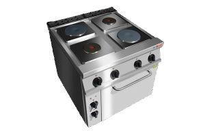 Electric Range Stove with Oven & Electric Hot Plate Stove