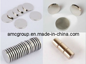 Rare Earth Permanent Disc SmCo Magnet pictures & photos