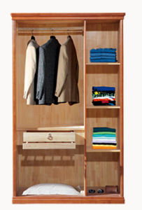 Solid Wood Bedroom Furniture Chest Wardrobe (M-X2010) pictures & photos