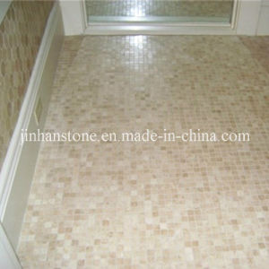 China Natural Travertine Mosaic Tile For Bathroom Floor Or Wall