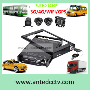 4CH Car DVR SD Card Digital Video Recorder with GPS for CCTV Video Surveillance System pictures & photos