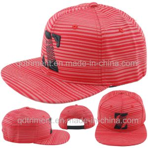 Flat Bill Screen Print Embroidery Sport Baseball Cap (TMFL6345-1) pictures & photos