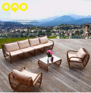 1+1+4 Rattan Sofa Outdoor Leisure Garden Sofa S314 pictures & photos