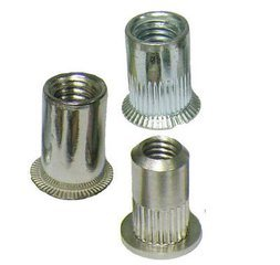 China Fasteners Flat Head Thread Blind Rivet Nut pictures & photos
