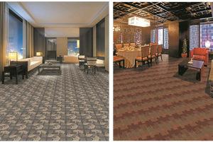 PP Machine Made Multi Level Loop Pile Carpet Hamberg Series