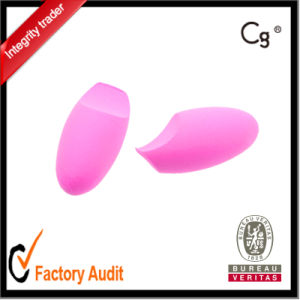Egg Shape Pink Make up Sponge pictures & photos