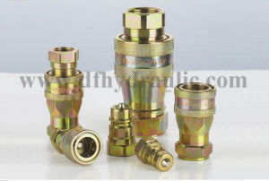 ISO 7241A S6 Close Type Hydraulic Quick Coupling pictures & photos