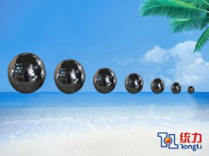 Gcr15 Steel Ball Bearing /Steel Ball /Roll Ball with 39.688mm/1.5625inch for Grinding Medium with ISO9001-2000