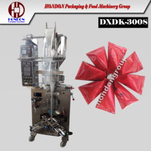 Automatic Granule Triangle Bag Packaging Machine (DXDK-300S) pictures & photos