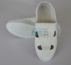 Antistatic PU Shoes 4-Holes (LTLD304) pictures & photos