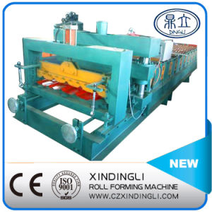 Classic Glazed Tile Roofing Sheet Forming Machine pictures & photos