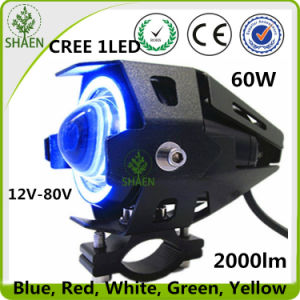 U7LED Motorcycle Headlight Double Beam 60W LED Motorcycle Headlight pictures & photos