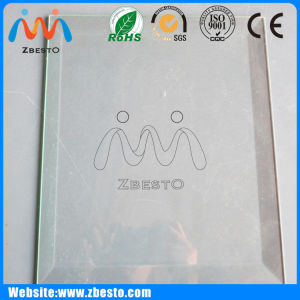 Beveled Ultra Clear Low Iron Float Glass Cut to Sizes