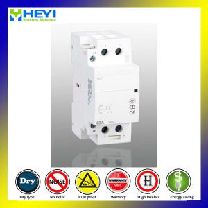 Household Reversible Contactor Relay 63A 50Hz 240V 2 Pole Electrical Type 2nc pictures & photos