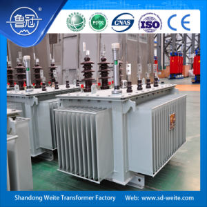 S13, 11kv Three Phase Oil-Immersed Distribution Transformer for Power Transmission