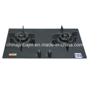 2 Burner Tempered Glass Built-in Gas Hob pictures & photos