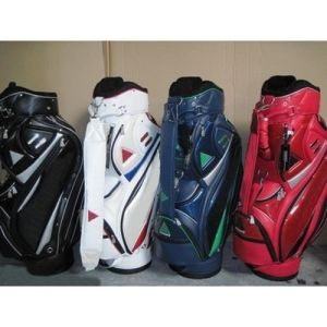 Pu Golf Cart Bag Clubs 5 Pieces Dividers