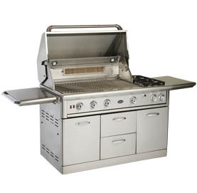 Taiwan Super Deluxe Stainless Steel Gas Grills W/6 Burners
