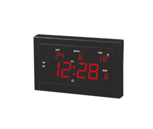 Competitive Price Digital Timer and Calendar Wall Clock