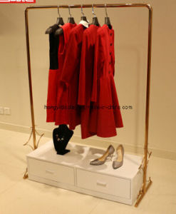 Metal fashion Gondola for Garment Retail Shop, Display Rack pictures & photos