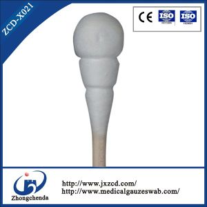 Sterile Wooden Stick Cotton Swabs