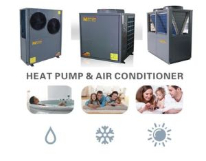 12.8-18.8kw Low Ambeint Temperature Area (low to -25C) High Efficient Evi Air to Water Heat Pump pictures & photos