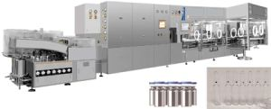 Vial Washing Drying Filling Stoppering and Capping Compact Line