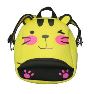 Yellow Cat Children Lunch Backpack Lunch Bag for Children pictures & photos