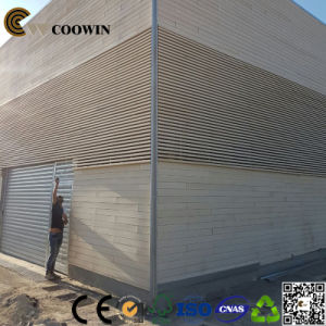White Color Decorative Exterior Wood Plastic Wall Panel Th 10